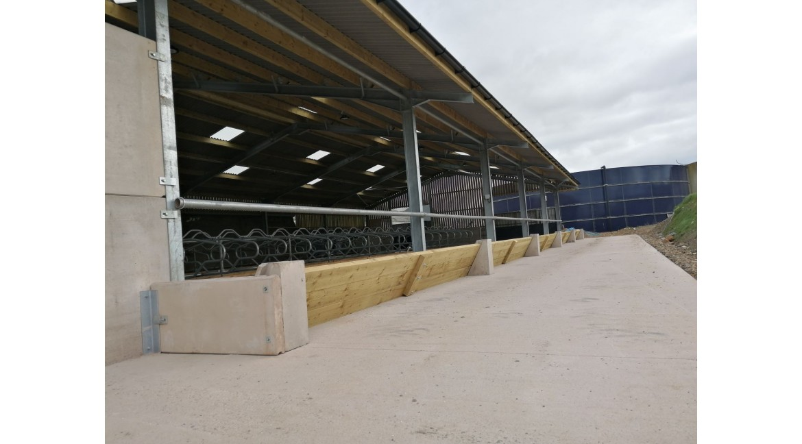 New Cubicle Shed Internals for local Dairy Farm